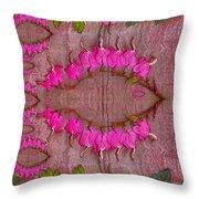 In The Eye Of The Koi Pop Art Throw Pillow