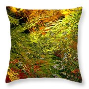 In The Flow 1 Throw Pillow
