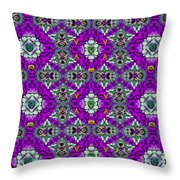 In The Footsteps Of The Tiger Throw Pillow