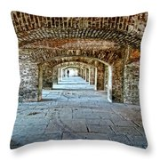 In The Fort Arches Throw Pillow