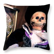 In The Fullness Of Time Throw Pillow