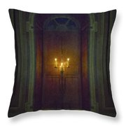 In The Great Hall Throw Pillow