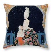 In The Grotto Throw Pillow