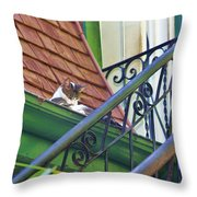 In The Gutter Throw Pillow