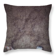In The Hay Throw Pillow