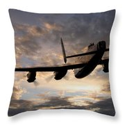 In The Heavens Throw Pillow