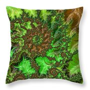 In The Jungle  Throw Pillow by Heidi Smith
