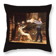In The Mid Time Detail Throw Pillow