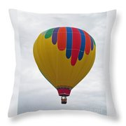 In The Middle Balloon Throw Pillow