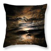In The Midnight Hour II Throw Pillow