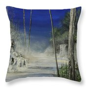 In The Mist Do Not Miss The Sea Throw Pillow