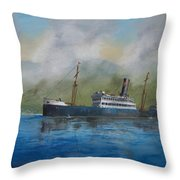 In The Mists Of Martinique Throw Pillow