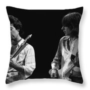 In The Moment With Bad Company 1977 Throw Pillow