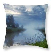 In The Morning At 02.57 Throw Pillow