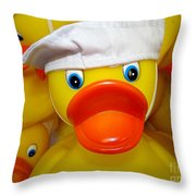 In The Navy Throw Pillow