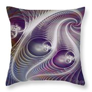 In The Night - Square Version Throw Pillow