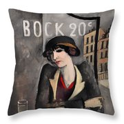 In The Outskirts Of Paris Throw Pillow