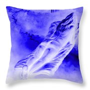 In The Peace Of Books Throw Pillow