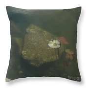 In The Pond Throw Pillow