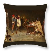 In The Prefecture Throw Pillow