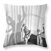 In The Prison Cell, 1929 Throw Pillow