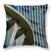 In The Round Throw Pillow
