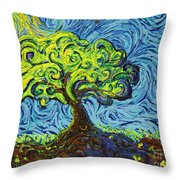 In The Shade Of Glory Throw Pillow