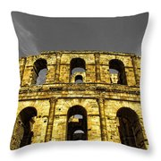 In The Shade Of Time Throw Pillow