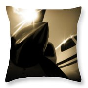 In The Shade Throw Pillow