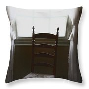 In The Shadows Of Light Throw Pillow by Margie Hurwich
