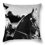 In The Show Too Throw Pillow