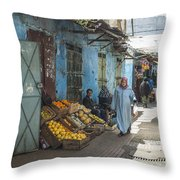 In The Souk Throw Pillow