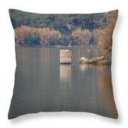 In The Swamp Throw Pillow