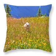 In The Thick Of It All Throw Pillow