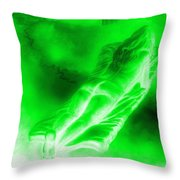 In The Transformation Of Books Throw Pillow