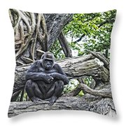 In The Treetop Throw Pillow