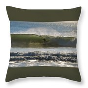 In The Tube Throw Pillow