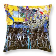 In The Underworld Throw Pillow