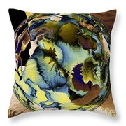 In The Year 2525 Throw Pillow