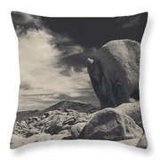 In This Strange Land Throw Pillow by Laurie Search