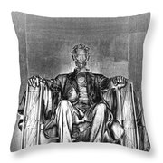 In This Temple Throw Pillow