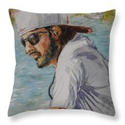 In Tuned Throw Pillow