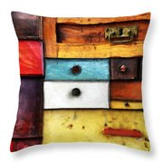 In Utter Secrecy Throw Pillow