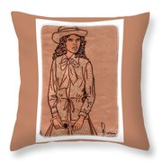 In Vogue Throw Pillow