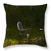 In Wait  Throw Pillow