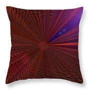 In Warp Throw Pillow