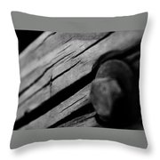 In Wood Throw Pillow