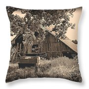 In Years Past Throw Pillow