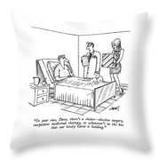 In Your Case Throw Pillow