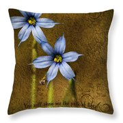 In Your Presence Is Fullness Of Joy Throw Pillow